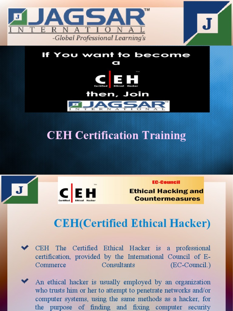 ceh certification training