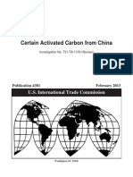 Certain Activated Carbon From China