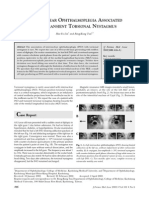 Internuclear Ophthalmoplegia Associated