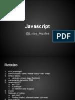 MiniCurso JavaScript
