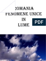 Fenomene Unice in Lume