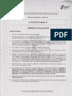 MODELO B - PROFESOR DE FORMACIÓN VIAL - PRIMERA EVALUACIÓN