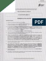 MODELO C - PROFESOR DE FORMACIÓN VIAL - PRIMERA EVALUACIÓN
