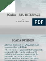 Scada – Rtu Interface