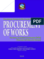 Procurement of Works for Above 6 Million Rupees [NCB]