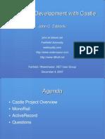 ASP.net Development With Castle