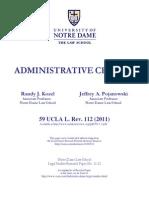 Administrative Change Kozel &Pojanowski UCLA Law Review