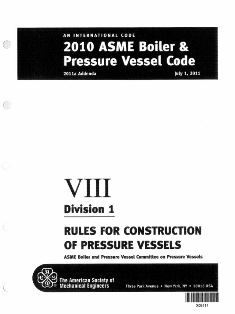 asme sec viii div 1 2010 free download