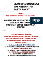 1. Presentasi Epid Dlm Ikm 2010
