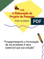 Projeto Pesquisa Documental