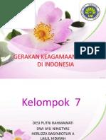 Gerakan Keagamaan Politik Di Indonesia