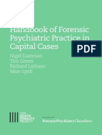 Handbook of Forensic Psychiatric Practice in Capital Cases
