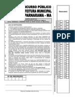 Prova Enfermeiro Esf Parnarama
