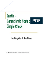 9 - Zabbix - Simple Checks