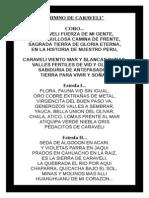Himno de Caraveli