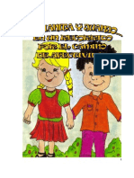 Cartilla de Educacion Sexual Para Niños de Preescolar