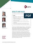 MFS Quality & Value