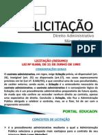Resumo Licitacao Direito Administrativo Marcio Azevedo