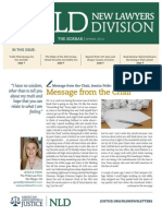 American Association for Justice New Lawyers Division Spring 2014 Sidebar Newsletter