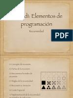 1 Elementos de Programacio n