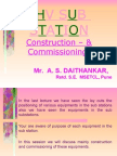 Substation Construction and Commissioning