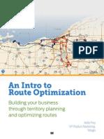 Route eBook an Intro to Route Optimizatio 040214