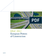 Construction Industry Report