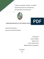 Armonizare Fiscală În Ţările Uniunii Europene