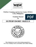 Supervisory Skills Training Manual