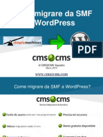 Come migrare da SMF a WordPress