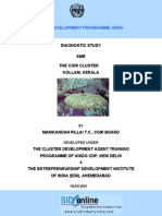 Diagnostic Study Report of Coir, Kollam, Kerala