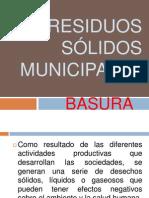 Residuos sólidos municipales