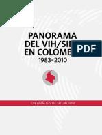 Panorama Vih Sida Colombia 1983-2010