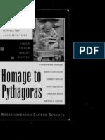[Christopher Bamford] Homage to Pythagoras Rediscovering Sacred Science