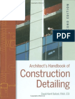 KENT, DAVID - Archtitects Handbook of Construction Detailing