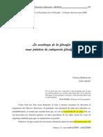 Agratti y Bethencourt - La Enseñanza de La Filosofia Com o Practica de Indagacion Filosofica