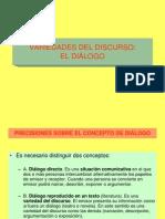 Variedades Del Discurso El Dialogo