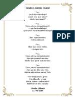 Poema Da Gratidão Original Por Giballin Gilberto 24abr2014