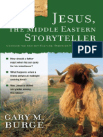 Jesus, the  Middle Eastern Storyteller by Gary M. Burge, Chapter 1