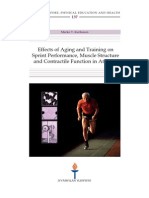 Aging and Training on Sprint Perf