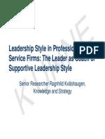 Leadership-Style_Kvålshaugen_Kaviar2004