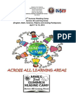 2nd Summer Reading Camp