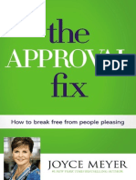 The Approval Fix by Joyce Meyer Excerpt