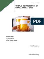 Plan de Trabajo de Psicologia en Programa Targa 2014