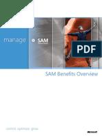 Benefits of SAM