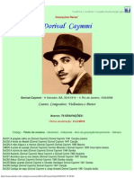 Gravações Raras - Dorival Caymmi