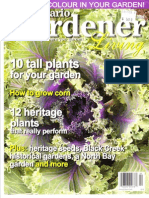 Ontario Gardener Magazine article on deer repellents