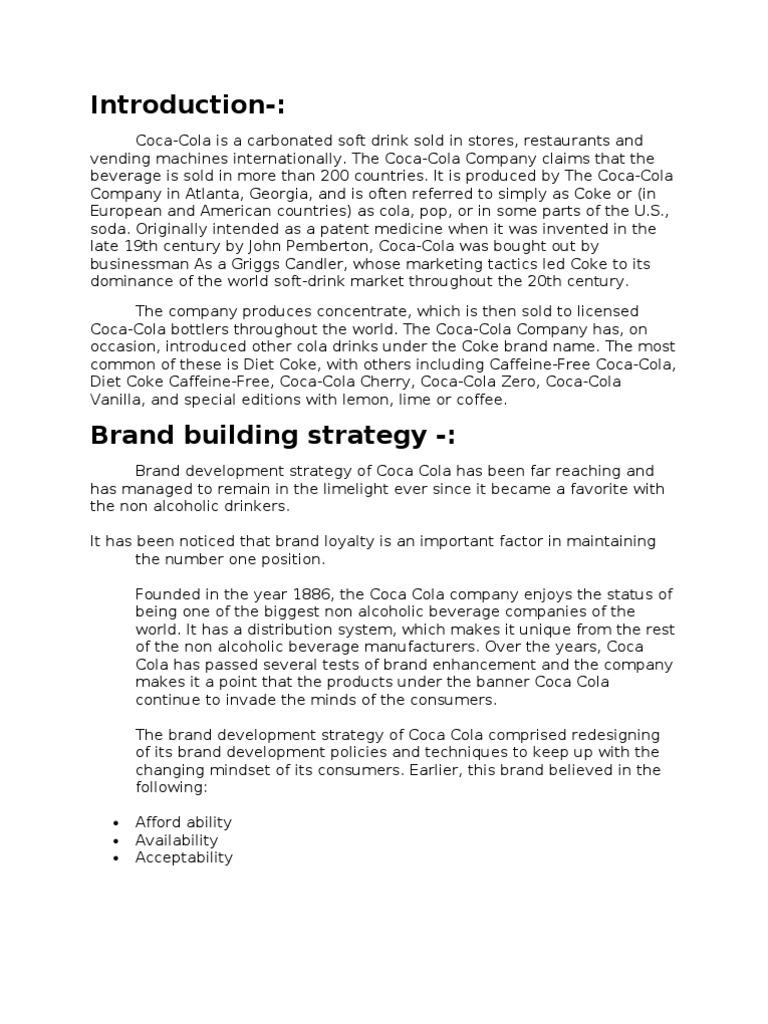 Coca Cola Branding Strategy | Coca Cola | The Coca Cola Company