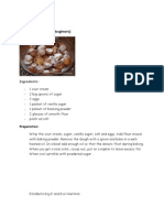 Croatian recipe by Eva