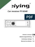 Py 9348 Manual en de Pl Ro